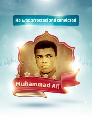 He was arrested and convicted