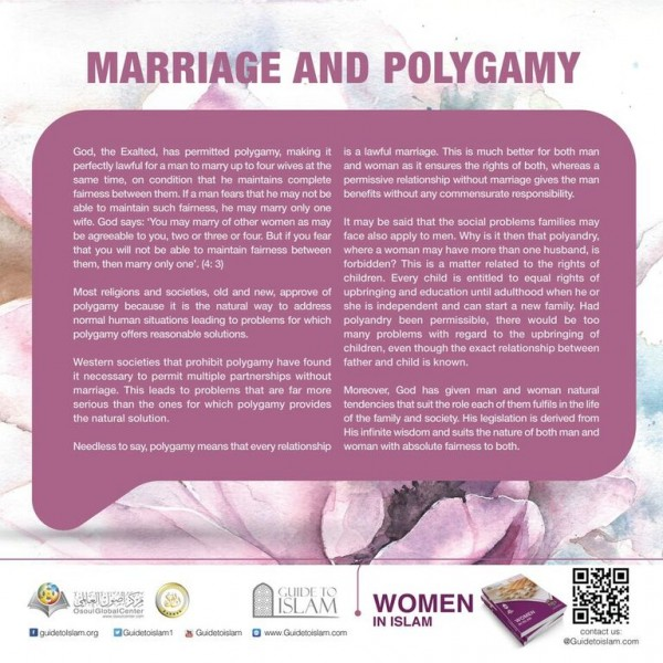Marriage and polygamy