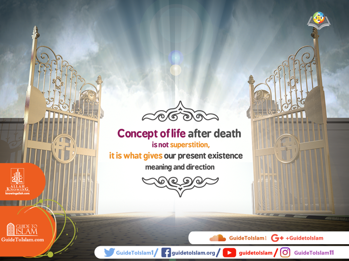 Concept of life after death is not superstition