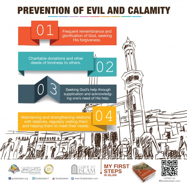 Prevention of evil and calamity