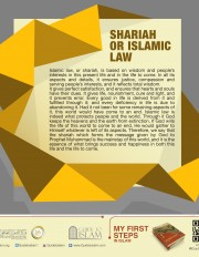 Shariah or Islamic Law