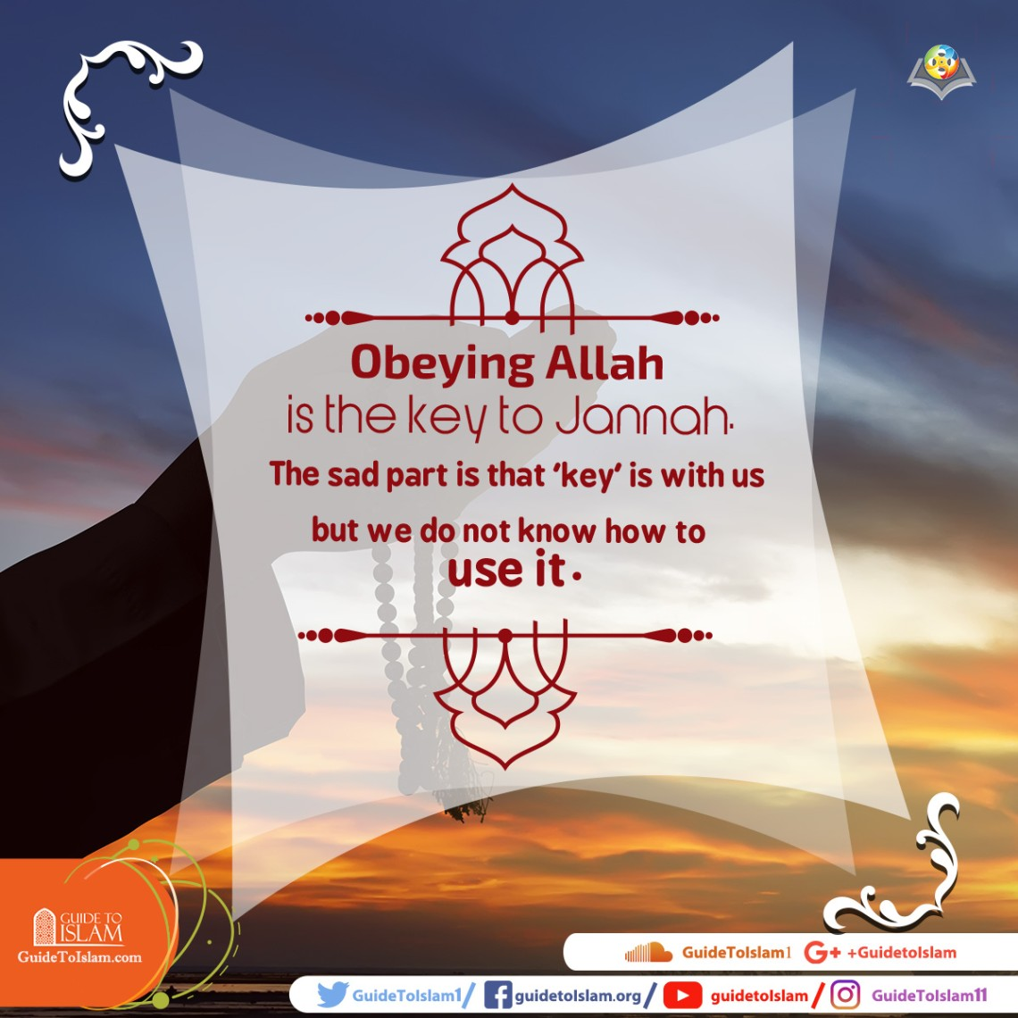 Obeying Allah is the key to Jannah