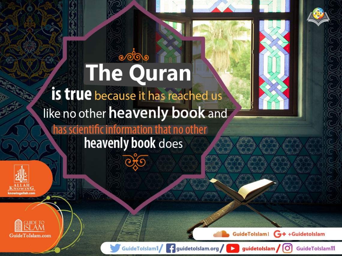 The Quran is true
