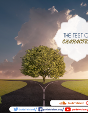 THE TEST OF CHARACTER
