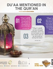 Du'aa mentioned in the Qur'an