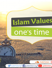 Islam Values one's time