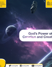 God's Power of Creation and Creativity