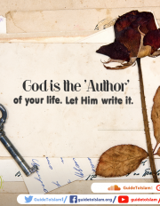 God is the 'Author' of your life