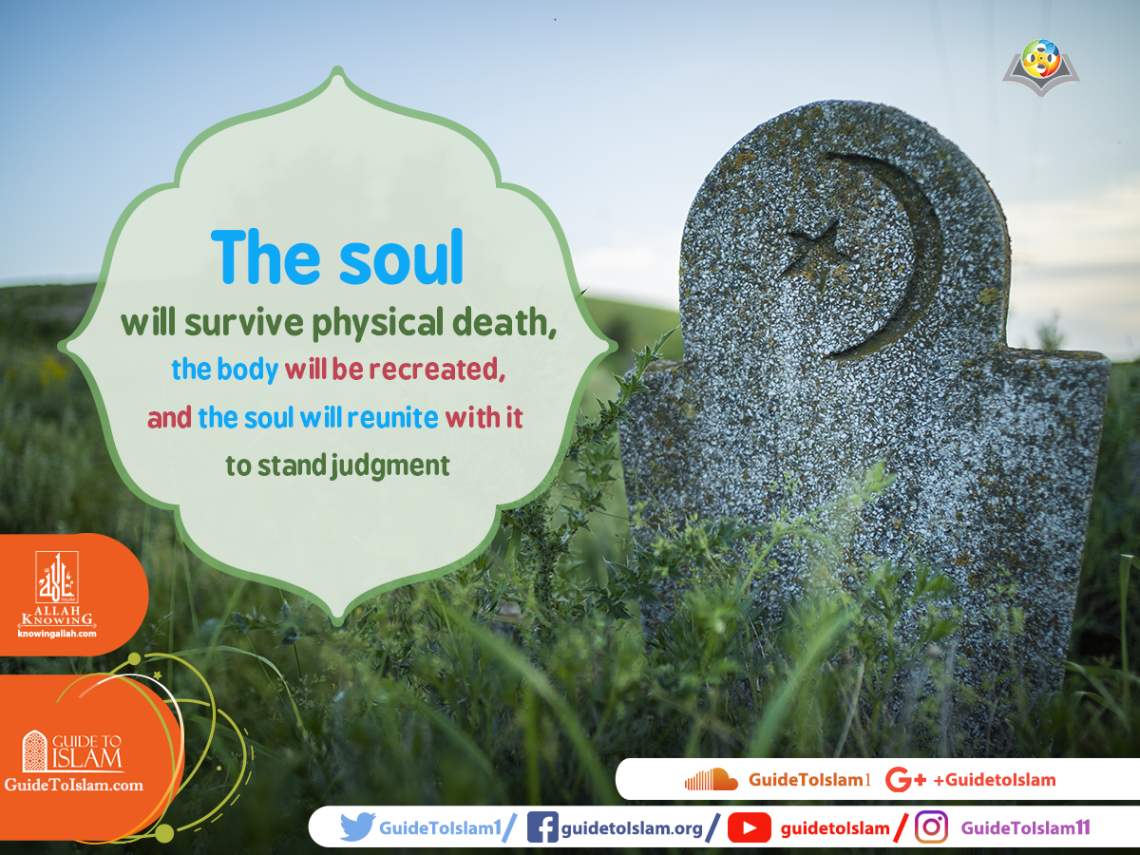 The soul will survive physical death, the body will be recreated