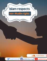 Islam respects non-Muslim rights