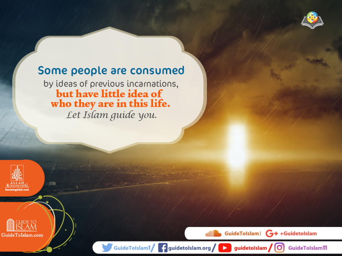 Let Islam guide you.