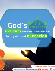 Mercy and forgiveness of God