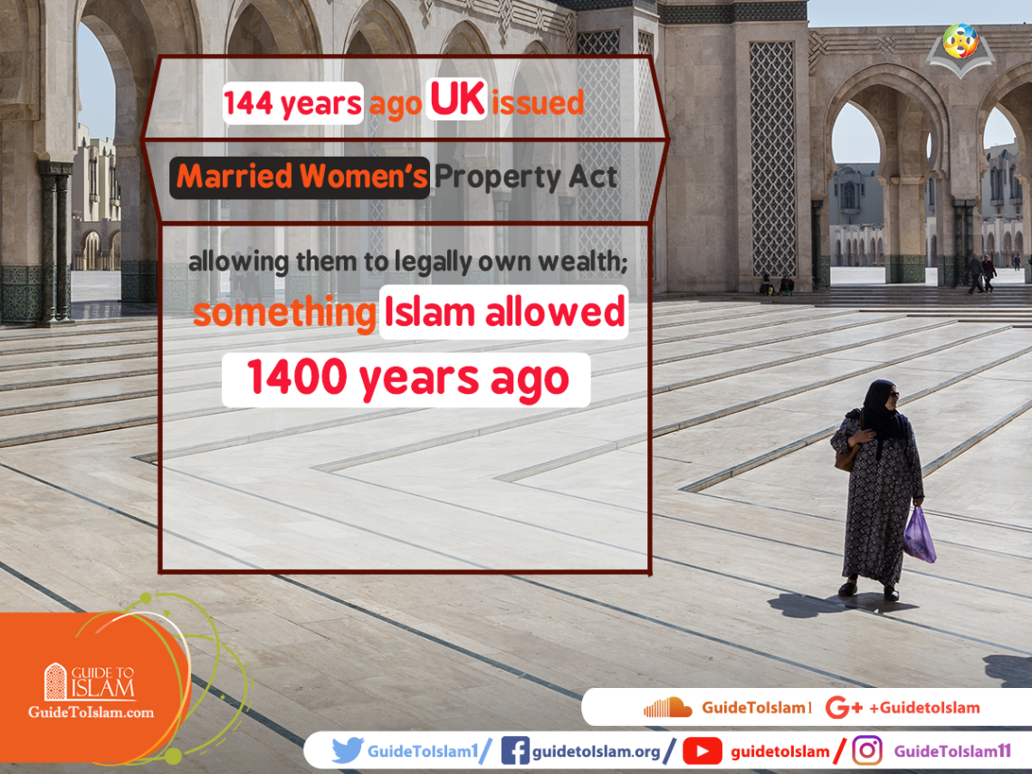 something Islam allowed 1400 years ago