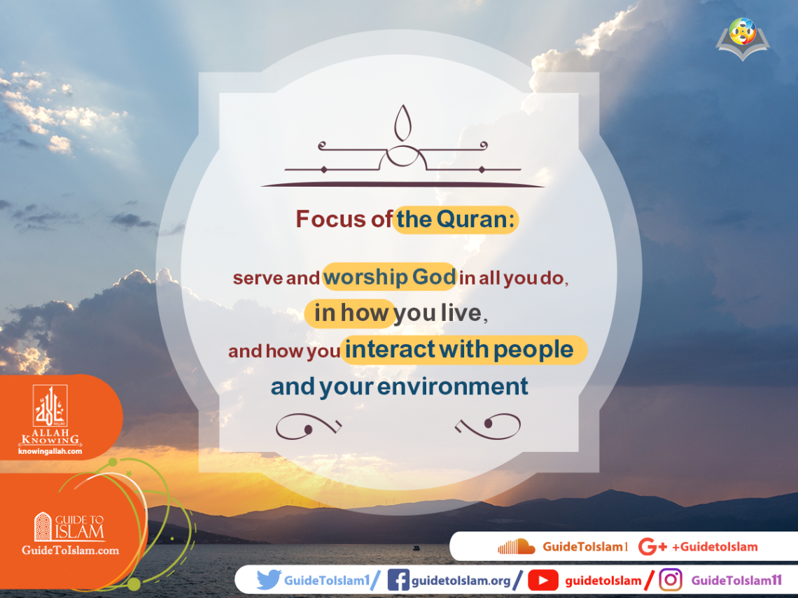 Focus of the Quran