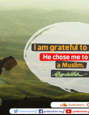 Grateful to be a Muslim