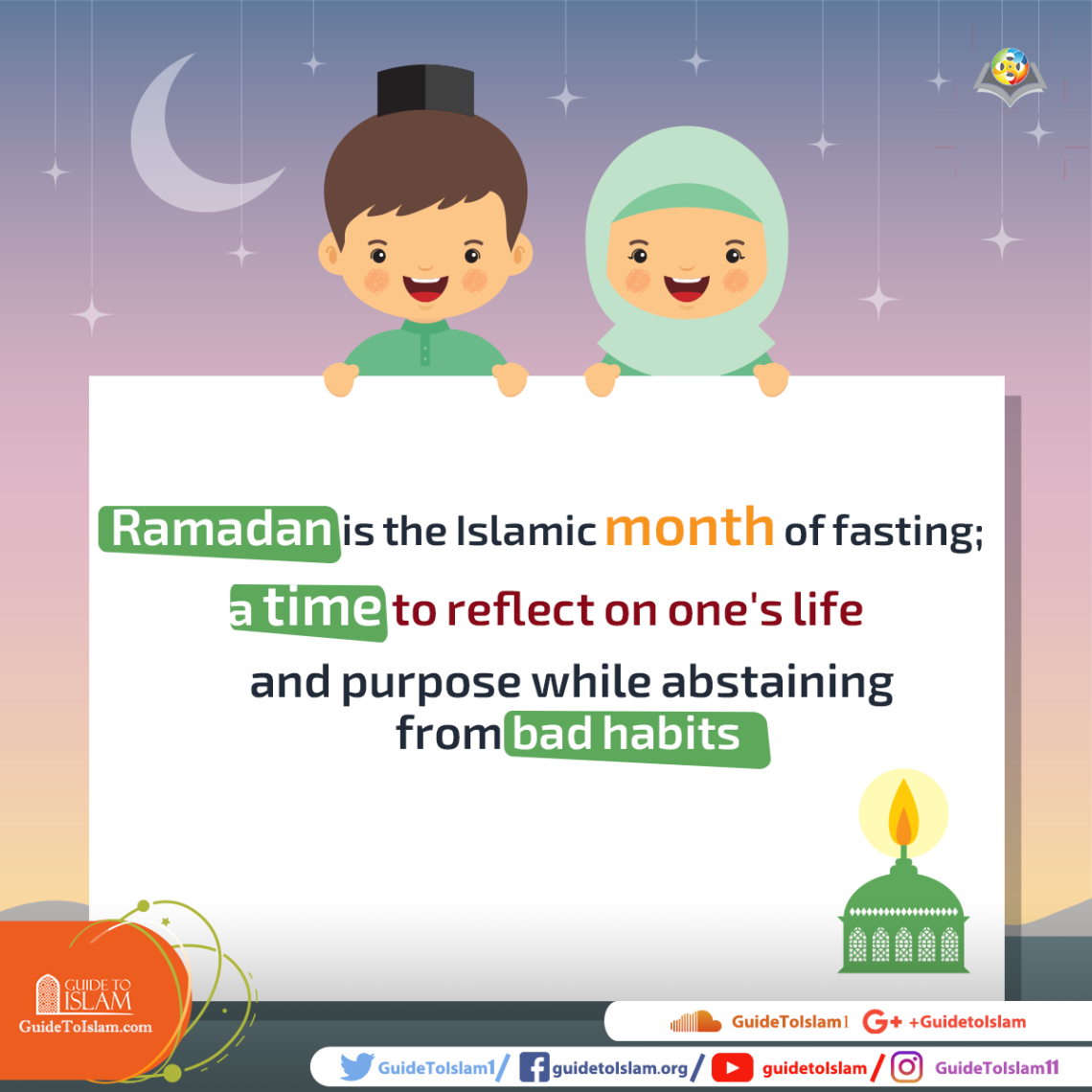 Ramadan is the Islamic month of fasting