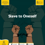 Slave to Oneself