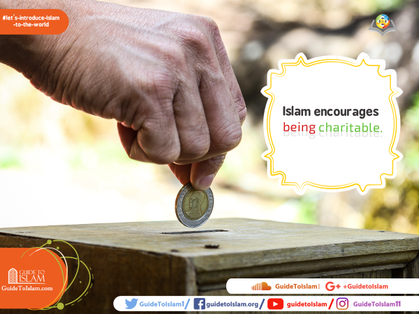Islam encourages being charitable