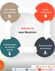 Advice to new Muslims