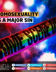 Homosexuality Is a Major Sin