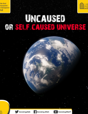 Uncaused or self-caused universe