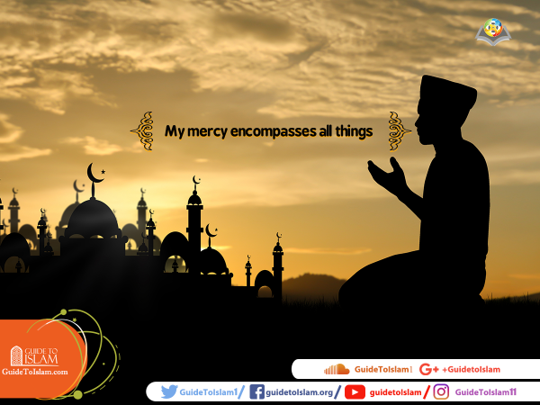 """My mercy encompasses all things"""