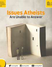 Issues Atheists Are Unable to Answer