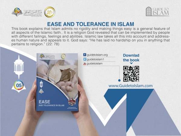 Ease and tolerance in Islam