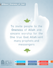 Allah sent many prophets and messengers