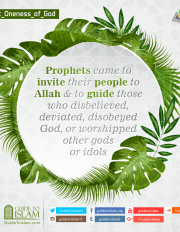Prophets came to invite their people to Allah