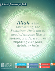 Allah is the Ever-living, the Sustainer