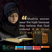 Why do Muslim women wear Hijab?