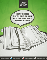 I have been given the Quran and the like of it along with it
