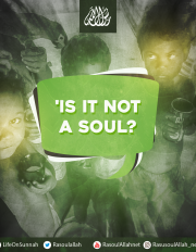 Is it not a soul?