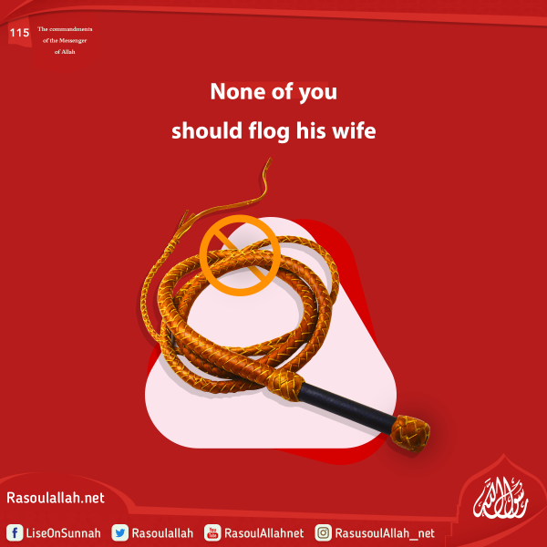 None of you should flog his wife