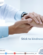 Stick to kindness