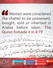 Status of Women before Islam