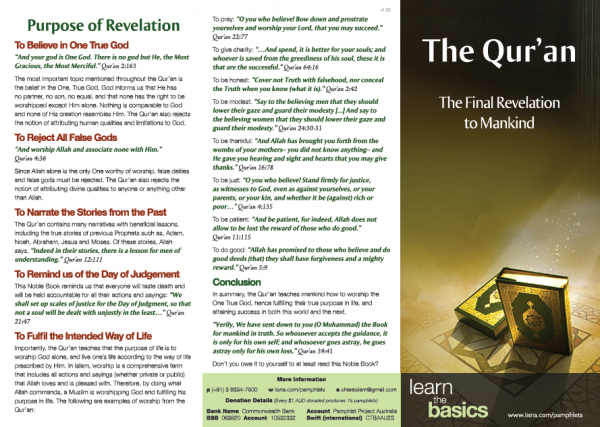 The Qur'an – The Final Revelation