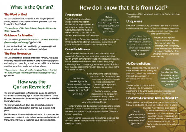 The Quran – The Final Revelation to Mankind II