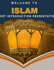 Islam - A short introduction presentation
