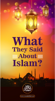 What they said about Islam?