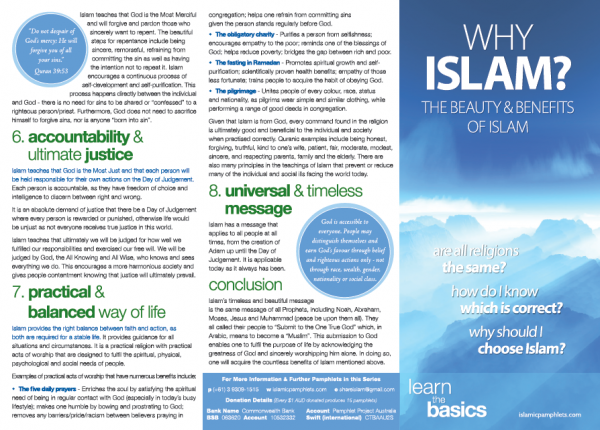 Why Islam? The Beauty and Benefits of Islam I