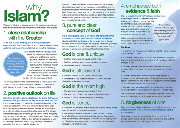 Why Islam? The Beauty and Benefits of Islam II